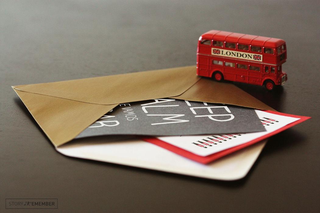 Apaixonados por Londres - Convite