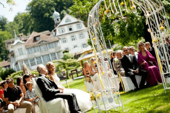 Beispiel: Freie Trauung & Outdoor-Zeremonie, Foto: projectwedding.ch & projectphoto.ch