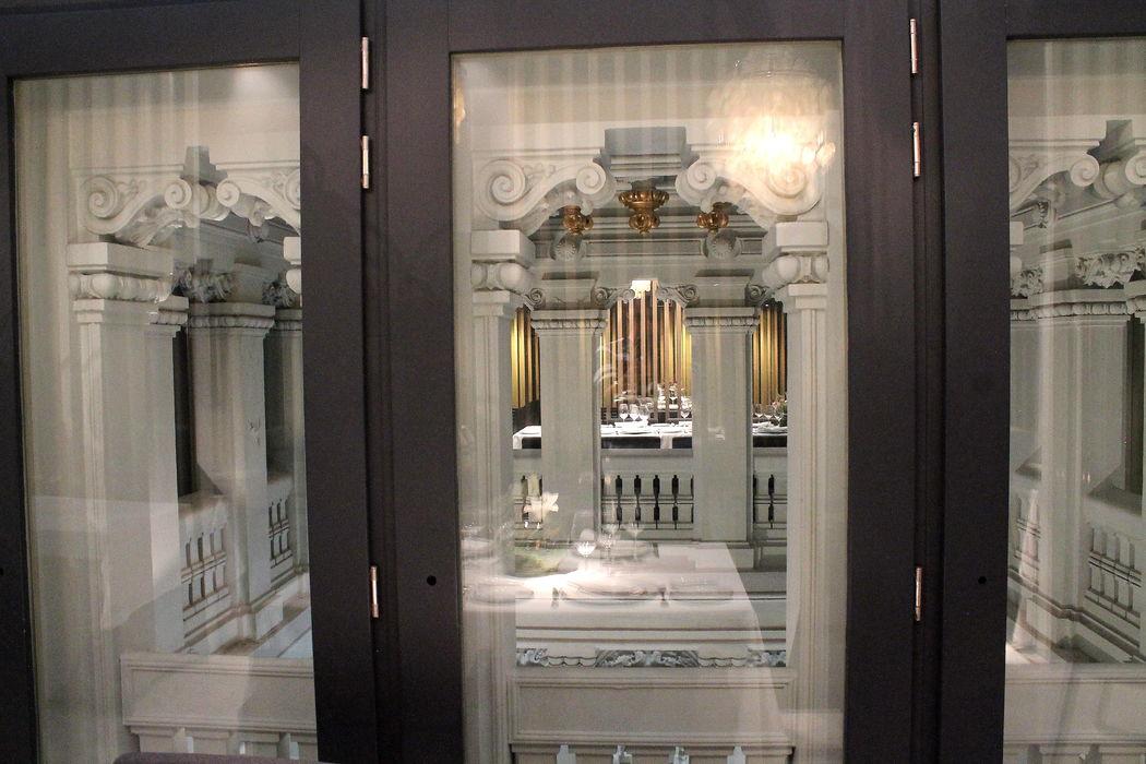 Zona interior Palacio de Cibeles.