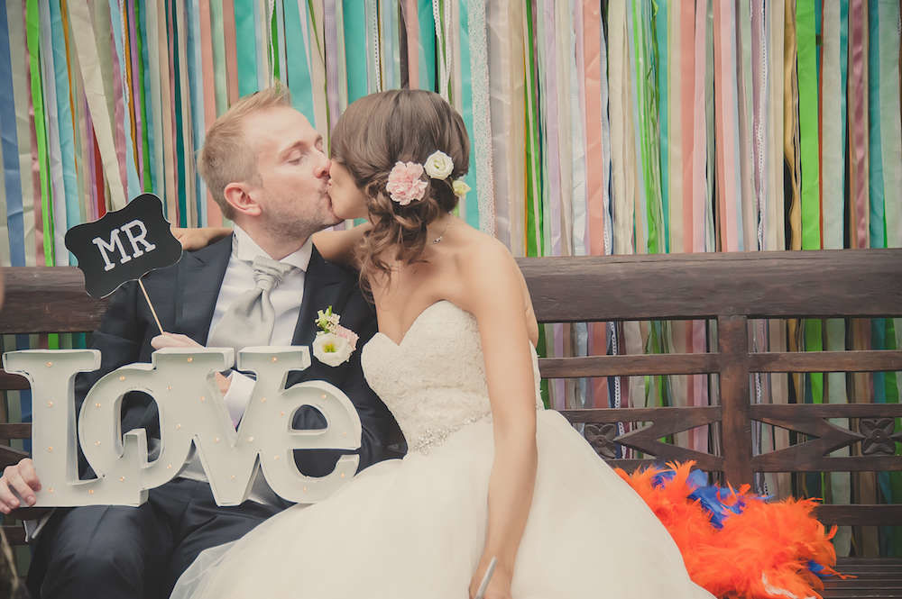 Matrimonio Ad Hoc di Tralci di Vite