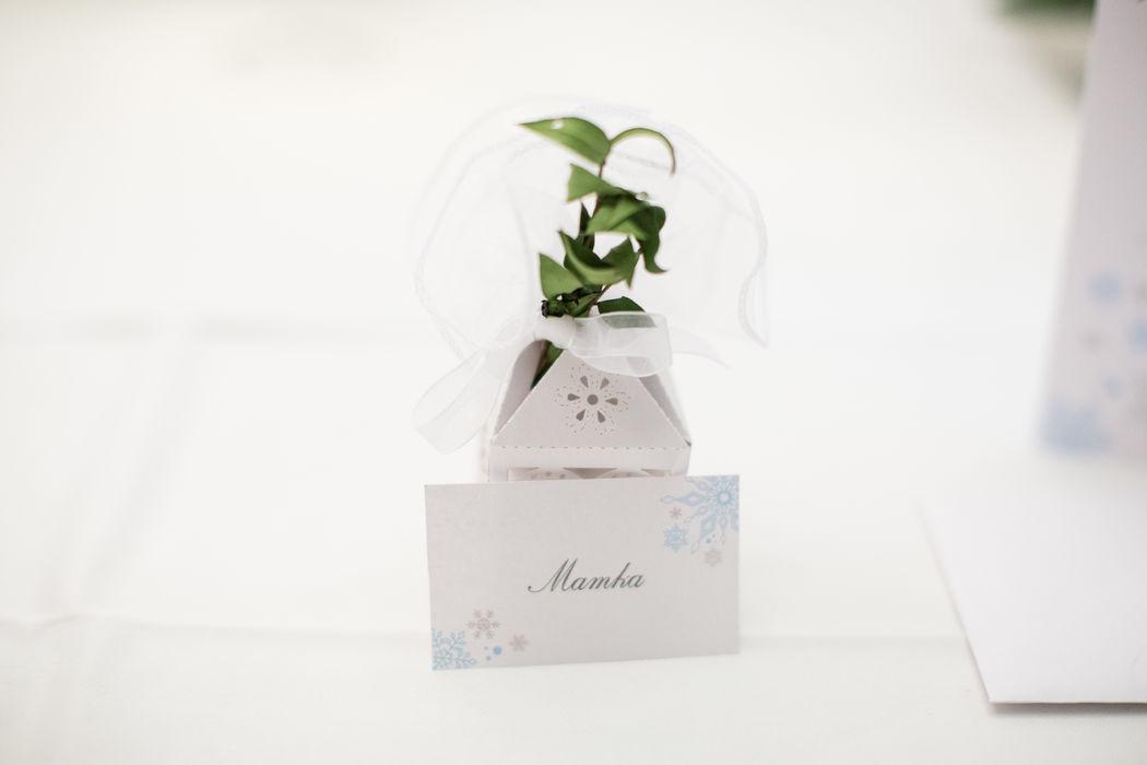 Beispiel: Dekoration Winterhochzeit Foto: wedding AGENCY