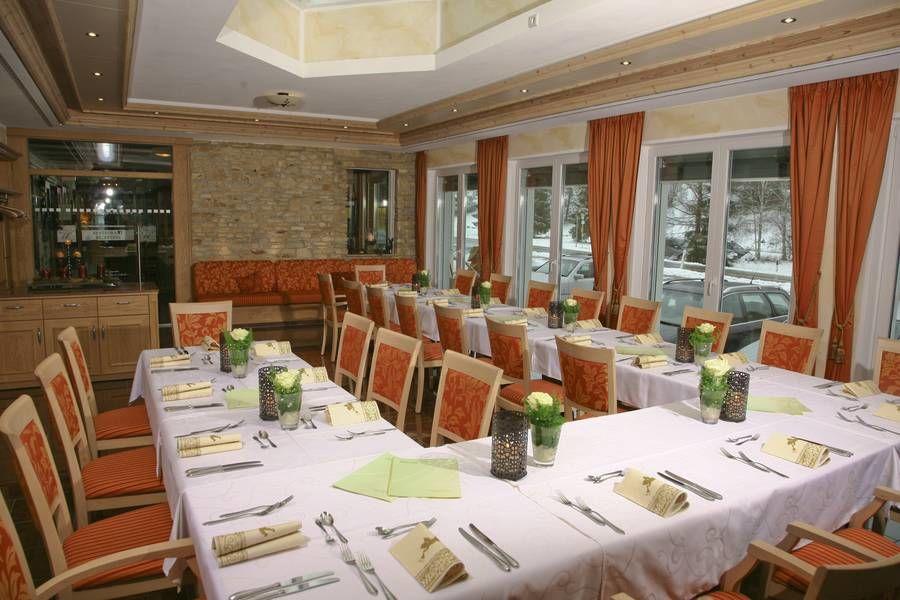 Beispiel: Tischdekoration, Foto: Landhotel Wental.