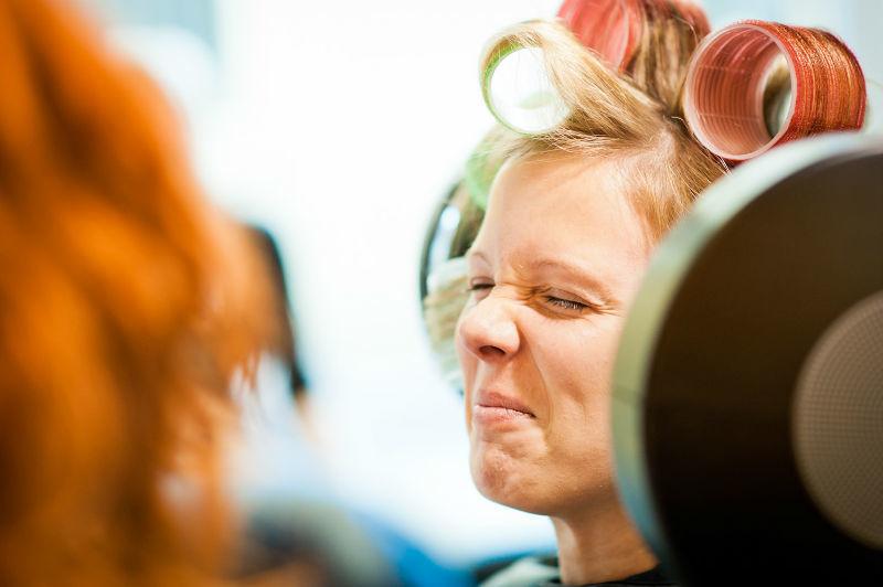 Beispiel: Fotos von den Vorbereitungen, Foto: Patrick Ludolph.