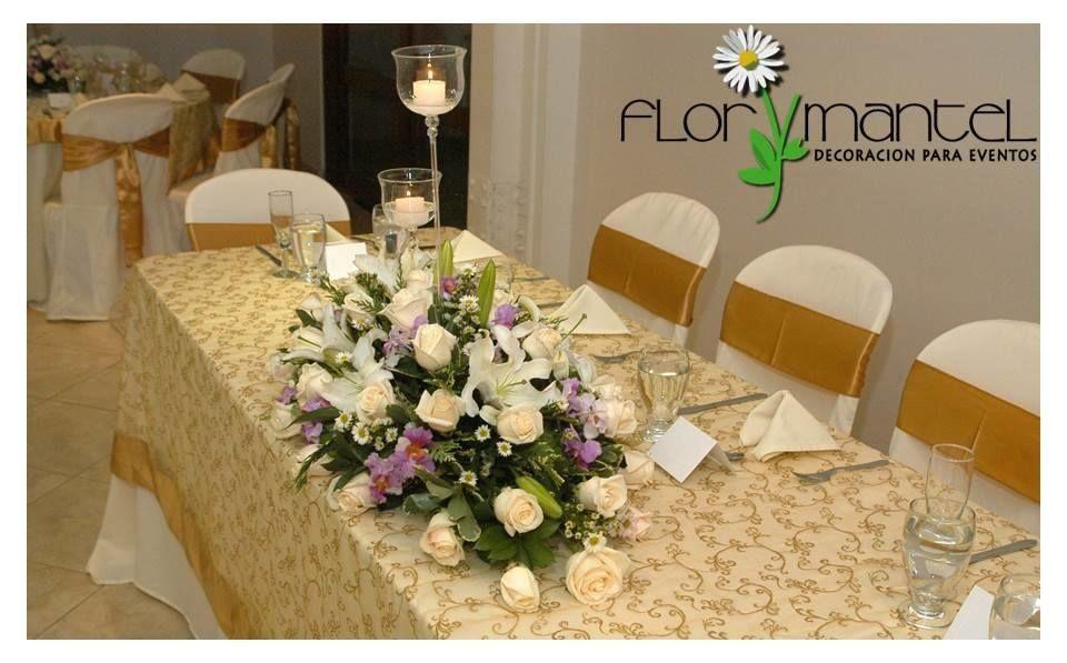 Flor y Mantel
