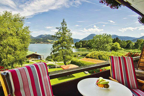 Beispiel: Ausblick vom Balkon, Foto: Hotel Terrassenhof.