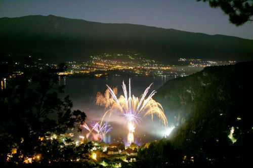 Pyroconcerts - Talloires