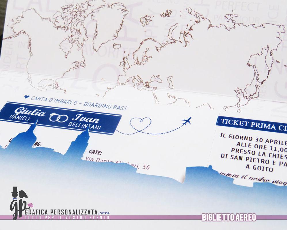 Partecipazione Biglietto aereo