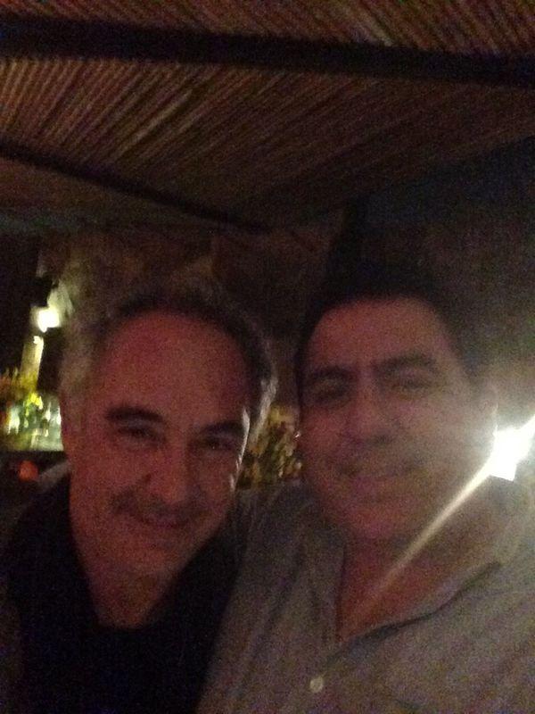Cumple de Gaston con Ferran Adrià