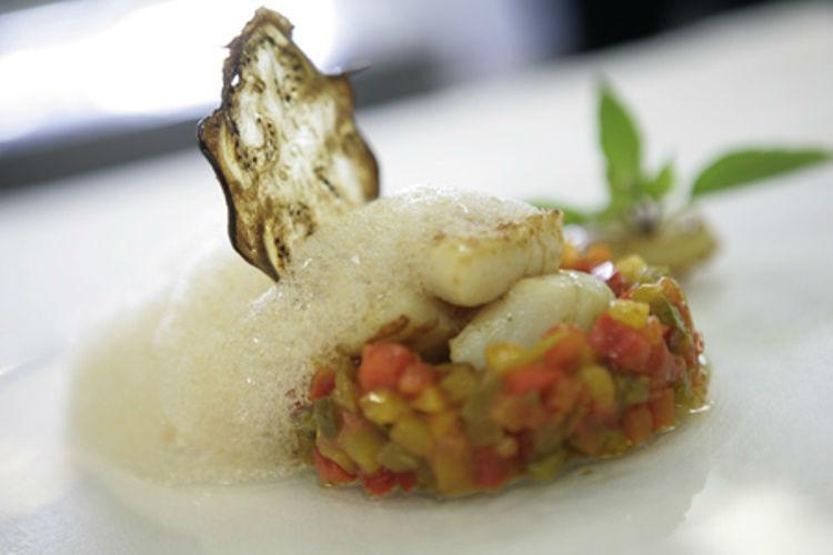 Beispiel: Exquisite Speisen, Foto: Hotel Heiden.