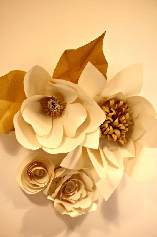 LaCasadiTania: I Giganti, maxi fiori per allestimenti e backdrops