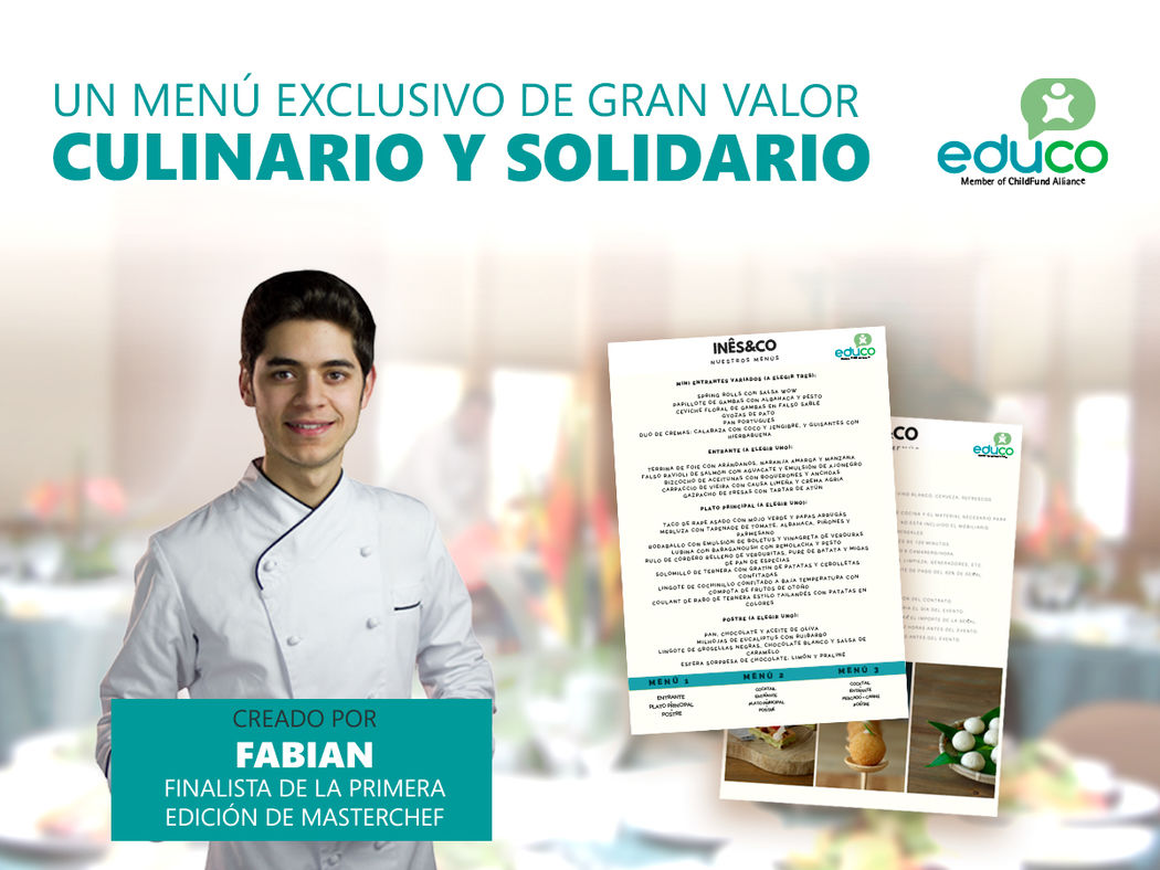 Educo - Catering solidario Ines&Co
