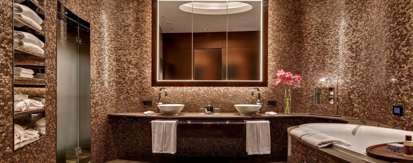 Beispiel: Badezimmer, Foto: The Dolder Grand.