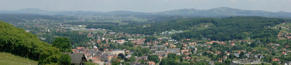 Beispiel: Landschaftsblick, Foto: Burg Deutschlandsberg.