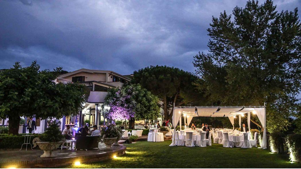 Villa Andrea di Isernia, il parco