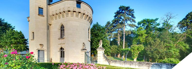 La Tour du Château de Candes Saint Martin