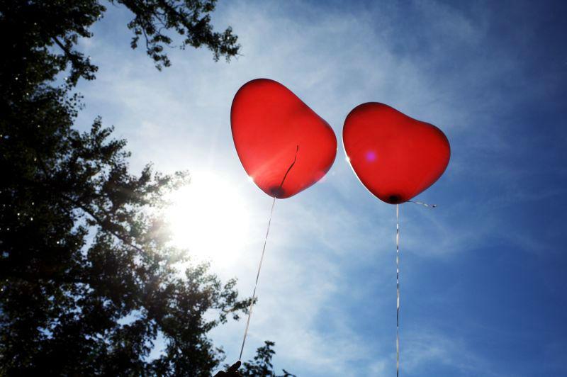 Beispiel: Luftballons, Foto: SagJa.