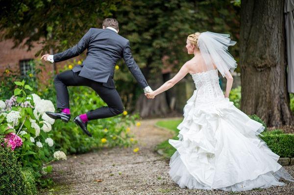 Beispiel: Hochzeitsbilder mal anders, Foto: asa400.