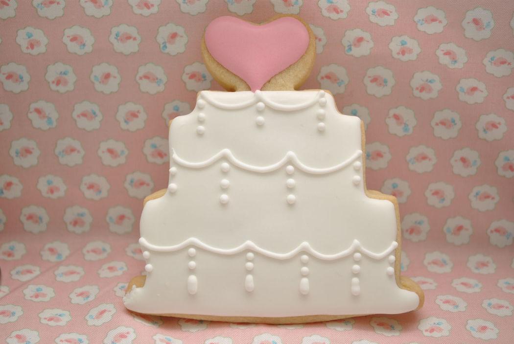 Galleta tarta de boda