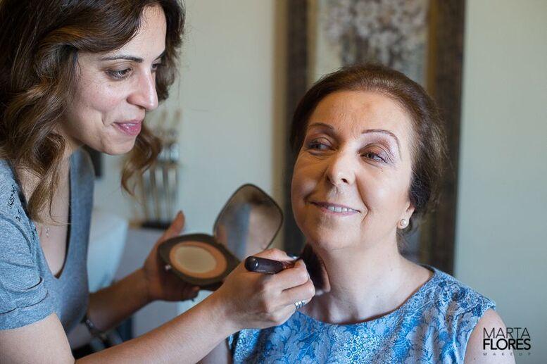 Maquilhagem mãe da Noiva