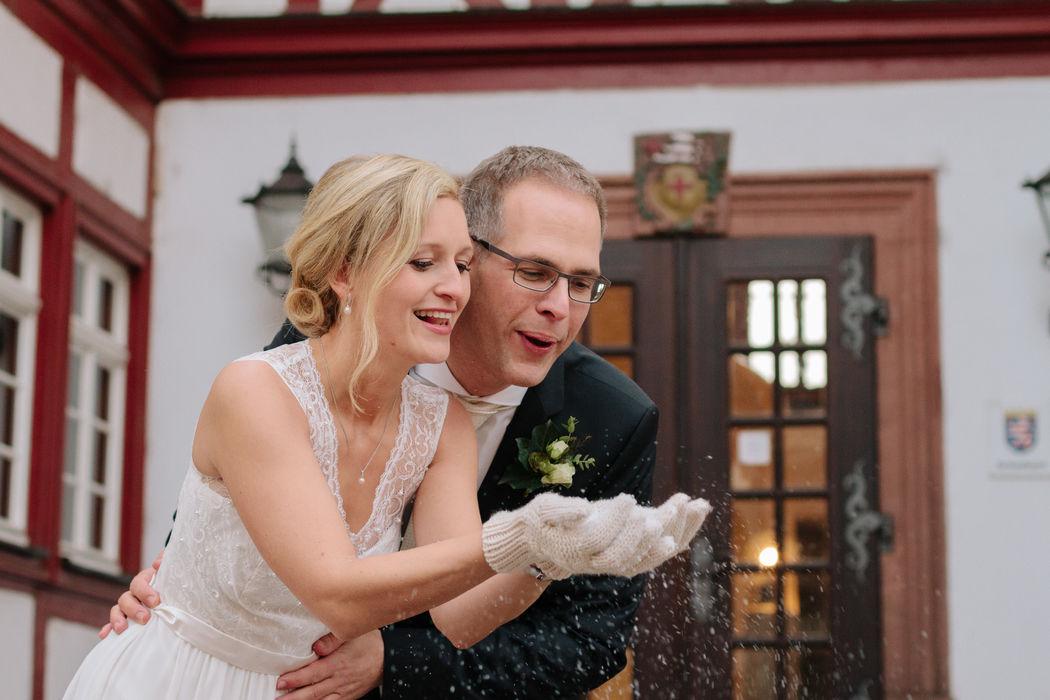 Winter wedding in Gross Gerau