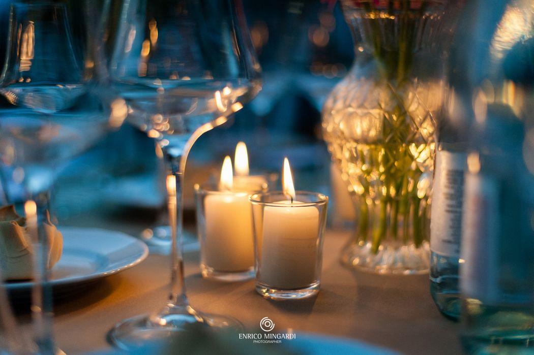 A lume di candele