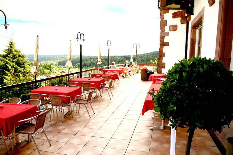 Beispiel: Terrasse, Foto: Waldhotel Zollernblick.