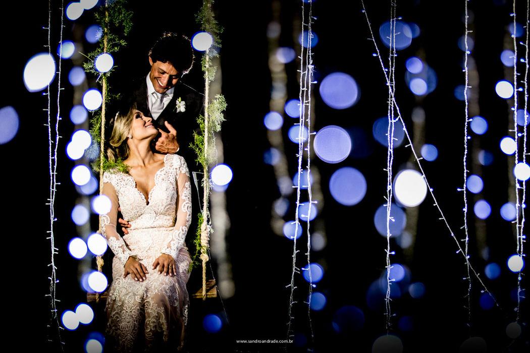 Casamento em Pirenópolis-GO. O querido casal Larissa e Murilo, momento das fotos. Sandro Andrade Fotografia
