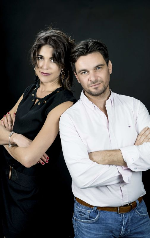 Angel & Nicolas // Séance Famille en studio