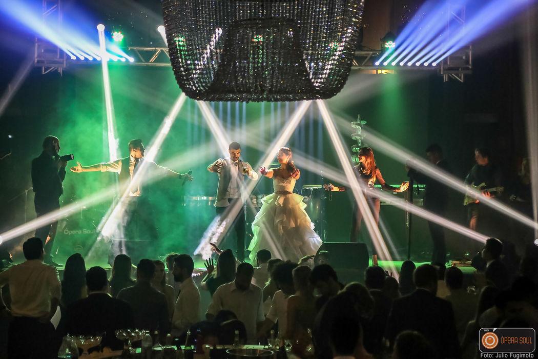 Banda Ópera Soul- Casamento no Clube Sírio