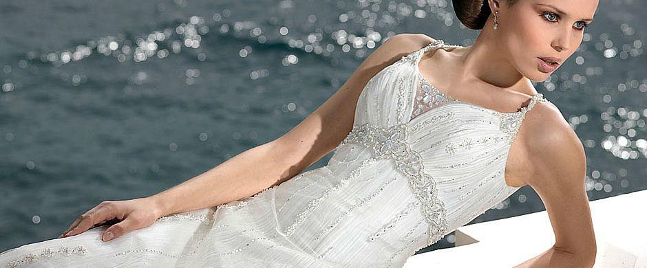 Beispiel: Hochzeitskleider, Foto: Babylon Brautmoden Outlet.