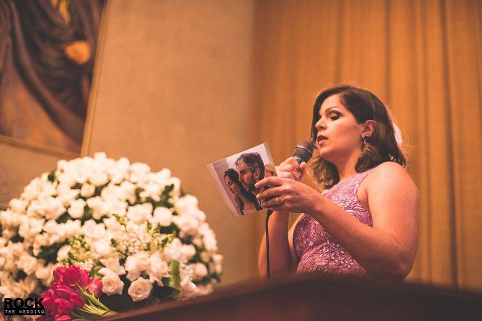 Juliana Freitas Celebrante Foto: Rock The Wedding