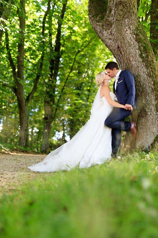 Beispiel: Brautpaar Shooting, Foto: Hochzeitsfotos - Augsburg Stadt & Land.