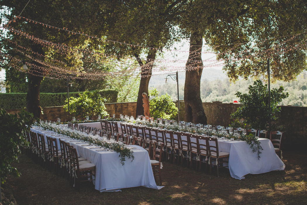 Al fresco Wedding
