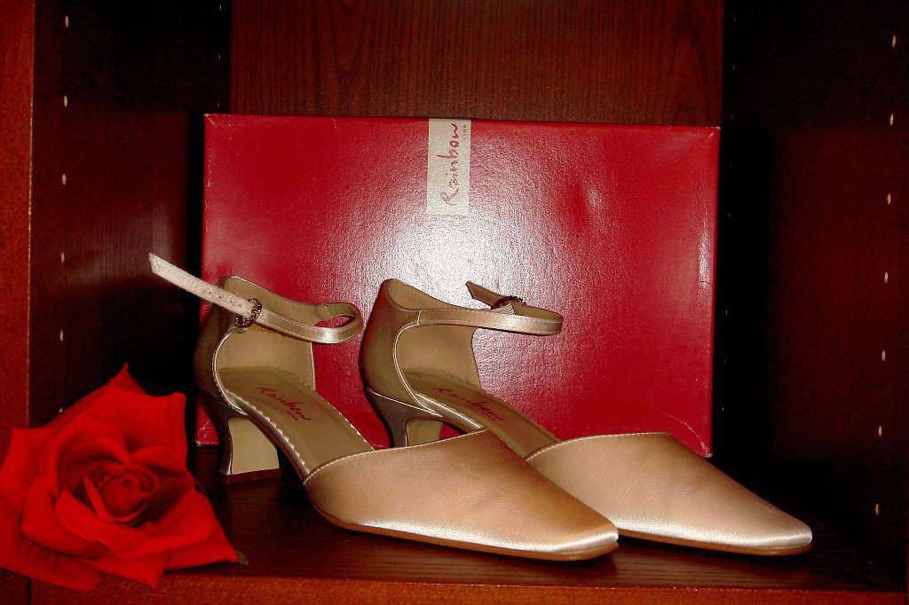 Beispiel: Brautschuhmode, Foto: Der Brautladen Schuhe.