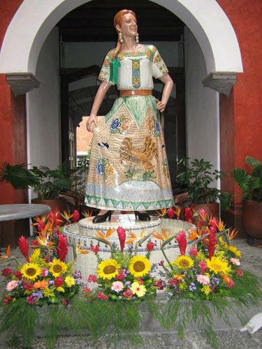 Hotel Casona de la China Poblana en Puebla