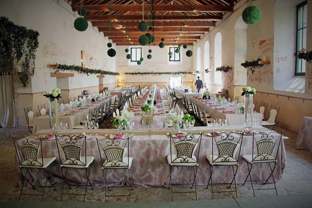 Un espacio con encanto para bodas romáticas
