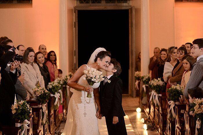 Casamento Sabrina & Brian - Igreja São José - Montenegro/RS Foto: Juliana Moscofian