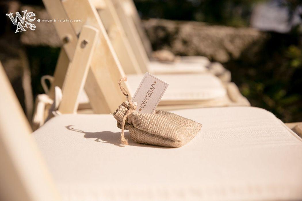 We Are. - Wedding planner. Montaje ceremonia civil.