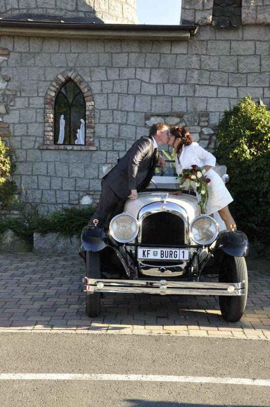 Beispiel: Brautpaar, Foto: Burg Spielberg.