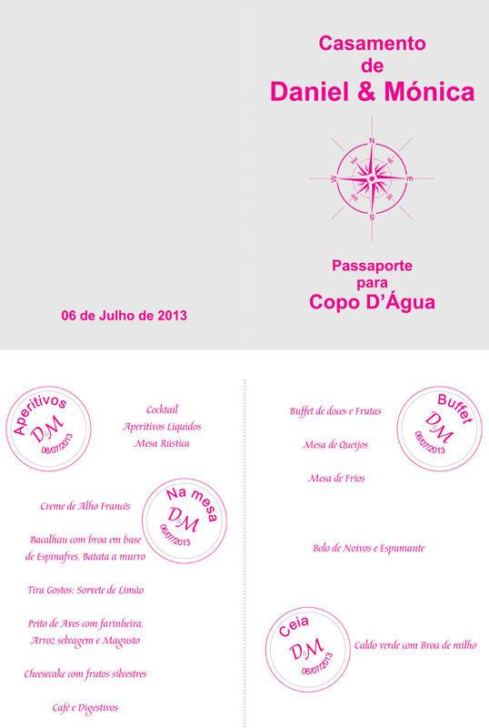 Ementa Passaporte