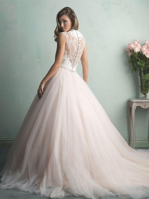 Marca: Allure Bridals. Modelo: 9162-espalda.
