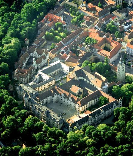 Beispiel: Luftbild, Foto: Thurn und Taxis Schloss St. Emmeram.