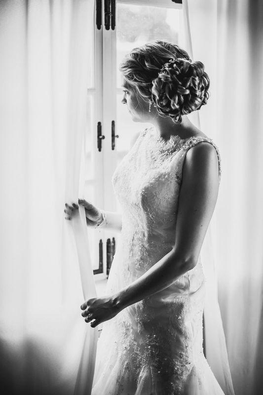 Beispiel: Portrait der Braut, Foto: Axel Link Photography.