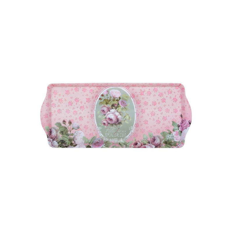Plateau mille roses