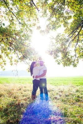 Beispiel: Love in the sunlight, Foto: Photography Spiegel.