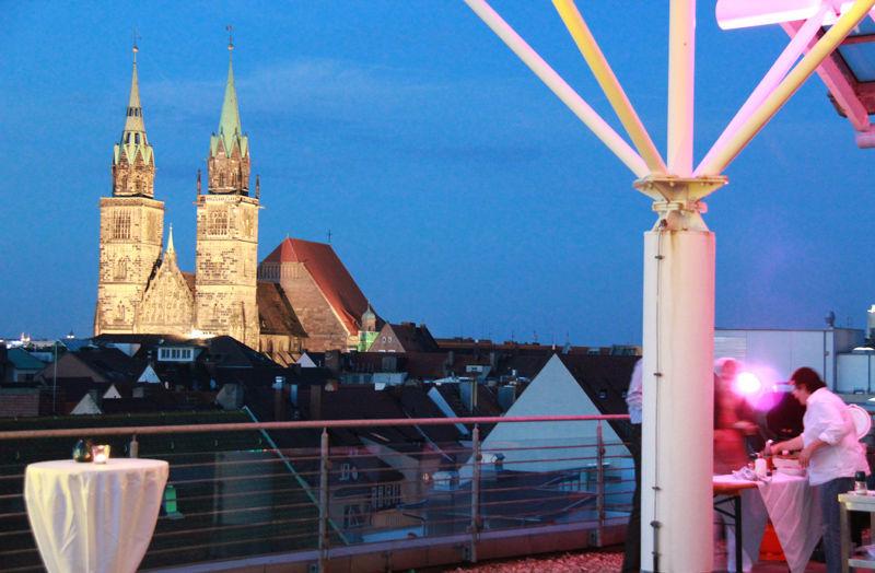 Beispiel: Studio Nürnberg - Ausblick, Foto: Dance maxX.