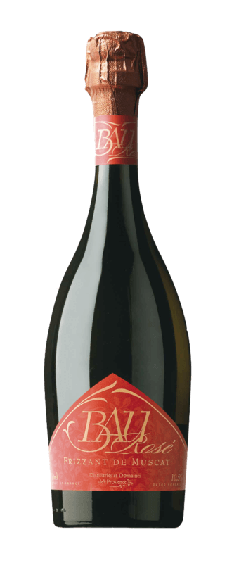 Distilleries et Domaines de Provence - Bau Frizzant de Muscat rosé