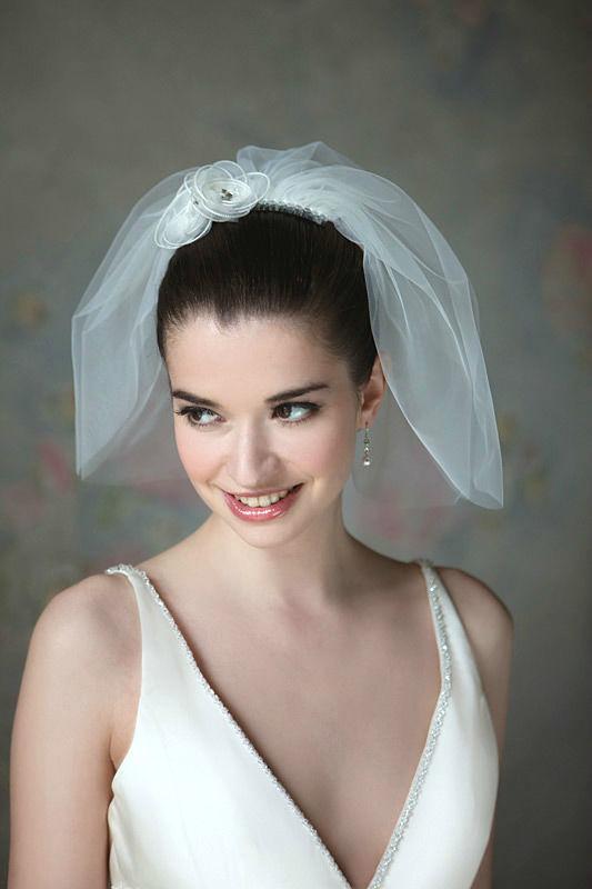 Beispiel: Schleier für die Braut, Foto: Brautstudio Schak.