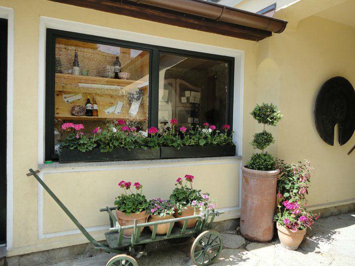 Beispiel: Gartenimpression, Foto: Heuriger Wieninger.