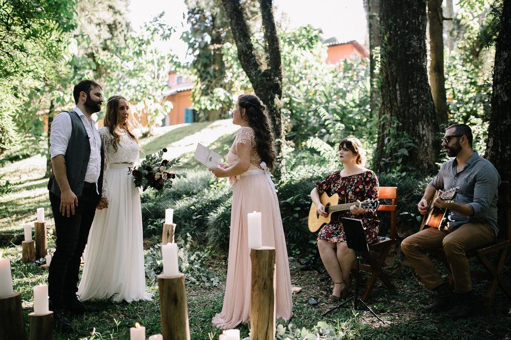 Elopement Wedding Tamara e Augusto na Fazenda Alvamar! O romance está no ar!